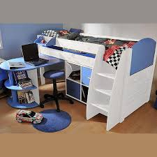 Midi Bed With Desk Kids Stompa Beds U0026 Furniture Uk High Sleeper U0026 Cabin Beds U2013 Family