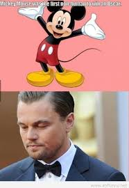 Mickey Meme - beats leo meme