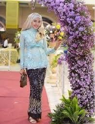 model baju kebaya muslim inspirasi model kebaya muslim modern terbaru 2017 asli cantik