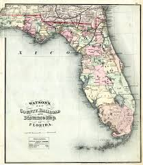 New York Central Railroad Map by Railroads The Florida Memory Blog