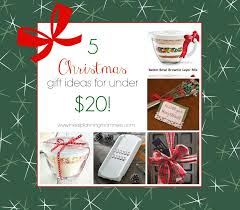 five fun inexpensive and easy christmas gift ideas for under 20