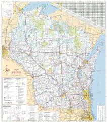Wisconsin Lakes Map by Wisconsin Road Maps Wisconsin Map