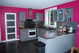 mur cuisine framboise cuisine cuisine framboise et gris cuisine framboise cuisine