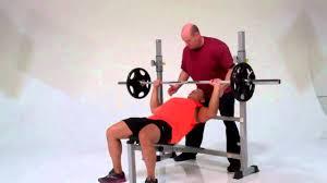 tuff stuff gladiator ewc 25 wide olympic bench with leg extension