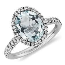 aquamarine wedding rings 8 aquamarine engagement rings that give diamond rings a run for