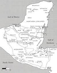 New Mexico Cities Map by Mayan Capitals Cities Map Ancient Aztecs Olmec Mayan Zapotec