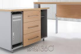 Desk And Filing Cabinet Set Amazon Krystal Modern Office 3 Leg Desk Set Up By Uffix Made In