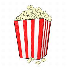 popcorn baskets seamless pattern with popcorn baskets and eyeglass royalty