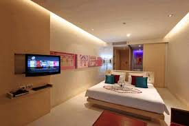 Fall Ceiling Bedroom Designs Simple Fall Ceiling Designs White Floating Frame Bed Modern Art
