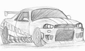 nissan skyline drawing outline fast super sonic coloring pages printable throughout super sonic