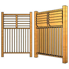 Home Hardware Deck Design The Flex U2022fence Hardware Kit Lets You Customize Your Decks Fences
