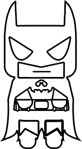 Tiny Batman Small Coloring Page Wecoloringpage Small Coloring Pages