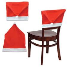 santa hat chair covers christmas chair covers santa wayfair
