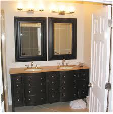 Bathroom Vanity With Drawers On Left Side Bathroom Mirror On Cabinet Door Good Looking Bathroom Vanity