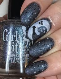 ehmkay nails moon hugging the sky valentine u0027s day nail art