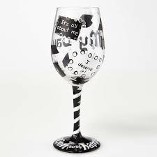 graduation wine glasses it s my day graduation wine glass