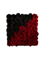 boxed roses 365 black ivi floral design roses that last for a year