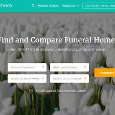 funeral homes prices funeral home price comparison website aimed at helping bereaved