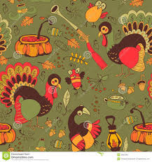 seamless with turkey for thanksgiving stock image image 33825381