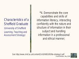 what does information literacy some exles from different dis