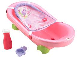amazon com fisher price pretty in pink bath tub hippo