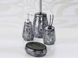 surprising black and grey bathroom accessories ideas best