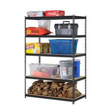 walmart metal shelves decorating contemporary edsal shelving for cool home furniture