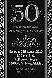 50th birthday invitations ideas invitations ideas