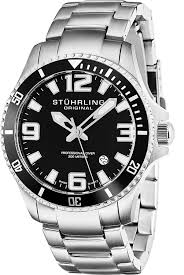 amazon com stuhrling original men u0027s 395 33b11 aquadiver regatta