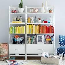 west elm white bookcase mid century bookshelf wide tower white mid century bookshelf mid