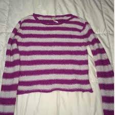 90 off free people sweaters free people beach purple striped