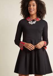 sleeved black dress the lbd black dresses modcloth