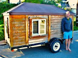 micro mobile homes rob finds his new tiny house on craigslist for 950 ready to