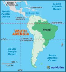 south america map equator brazil map geography of brazil map of brazil worldatlas