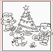 charlie brown christmas coloring pages coloringsuite
