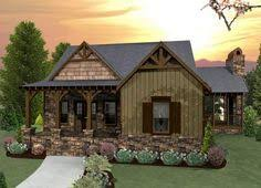 craftsman cottage style house plans plan 12913kn vaulted living room and master suite retirement