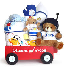 wagon baby gift for baby boy deluxe personalized welcome wagon