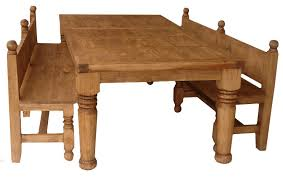 Rustic Dining Room Bench Rustic Kitchen Table Sets Farmhouse Dining Table With Leaves