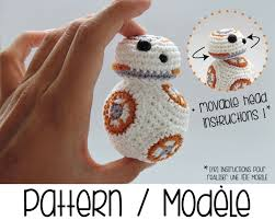pdf pattern bb8 droid with movable head bb 8 star wars