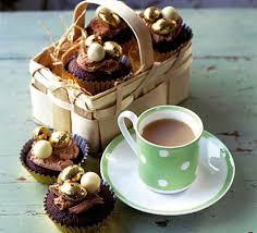 chocolate fudge easter cakes recipe bbc good food