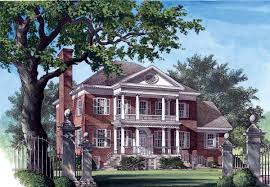 Historic Southern House Plans by House Plan 86125 At Familyhomeplans Com