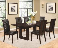 105721 chester dining table in chocolate by coaster w options