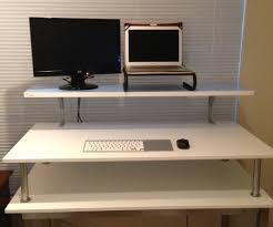 Standing Computer Desk Ikea 6 Super Charming Standing Desk Ikea U2014 The Decoras