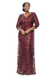 Wedding Dresses For Larger Ladies Ladies Plus Size Evening Dresses After Dark