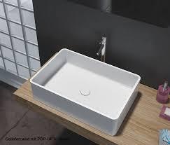design aufsatzwaschbecken aufsatzbecken aufsatz waschbecken rechteck pb2012 design