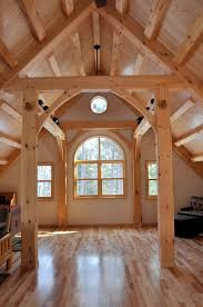 Small Timber Frame Homes My Preferred Wood For A Timber Frame Home Light And Cheery
