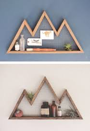 diy home interior top 10 unique diy shelves diy wood wall shelves and diy wood