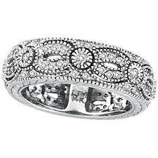white gold eternity ring 14k white gold 87ct diamond designed eternity ring band