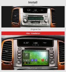 lexus lx 470 car price in dash 1998 2007 toyota land cruiser 100 lexus lx 470 radio