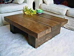 Rustic Brown Coffee Table Rustic Wood Coffee And End Tables Decor Homes How To Make